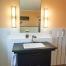 Naturstein Waschtisch Fliesen Bad Spiegel