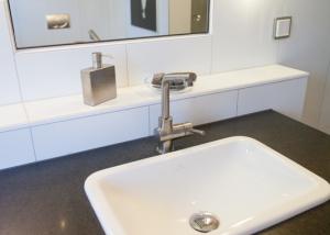 Naturstein Waschtisch Fliesen Bad