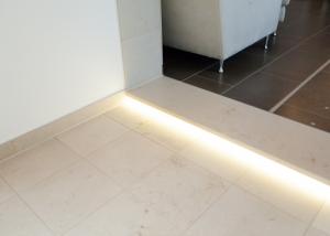Naturstein Stufe LED