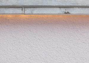 Terrasse Naturstein LED Beleuchtung